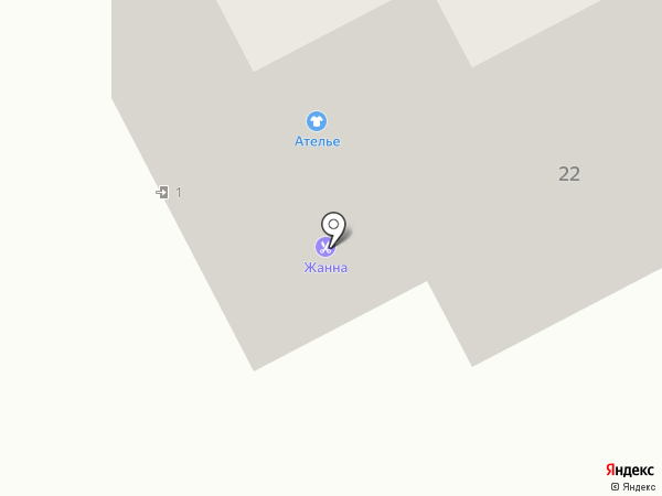 Жанна на карте Волгограда