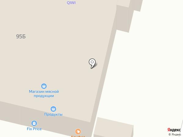 МебельС на карте Волгограда