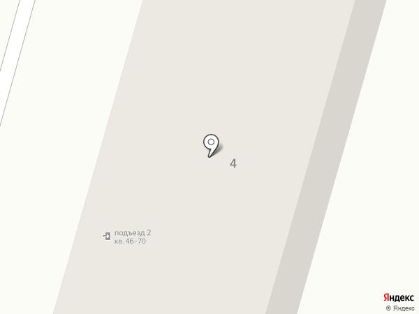 Продуктовая корзина на карте Волгограда