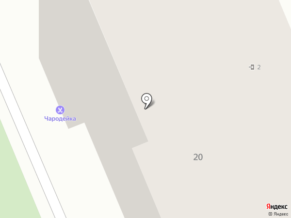 Пивная таверна на карте Волгограда