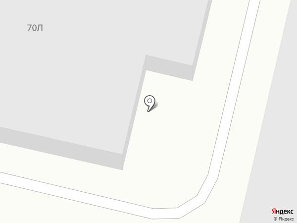 Акира-суши на карте Волгограда