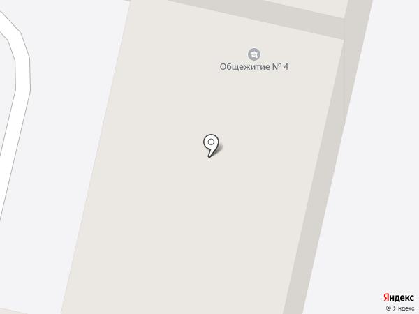 Общежитие на карте Волгограда