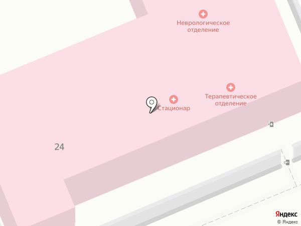 Клиническая больница №11 на карте Волгограда