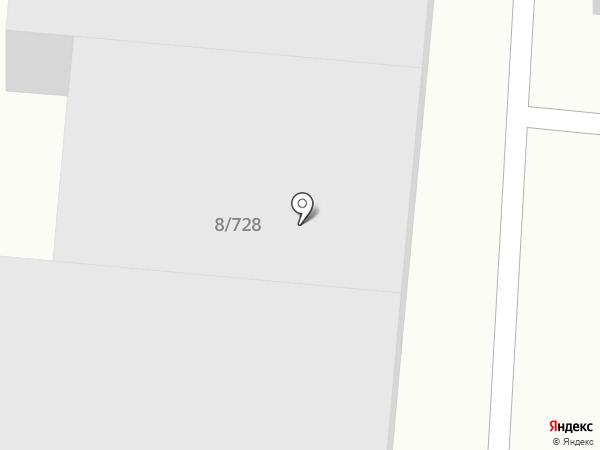 Грузовой автосервис на карте Волгограда