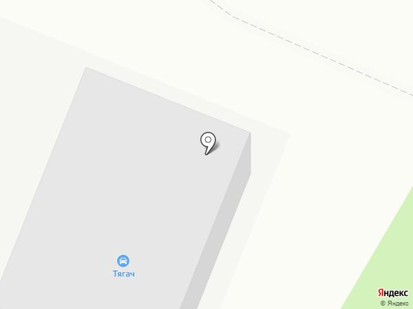 Тягач на карте Волгограда