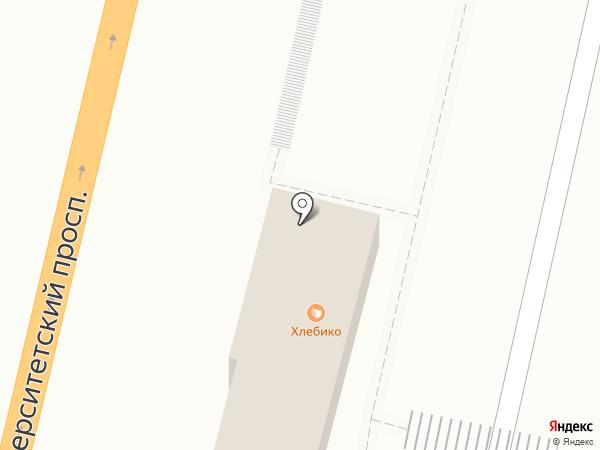 Хлебнаш на карте Волгограда