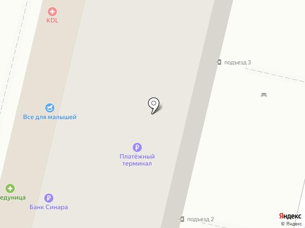 Банкомат, Балтийский банк на карте Волгограда