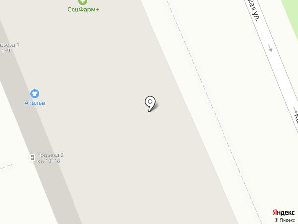 Жасмин на карте Волгограда
