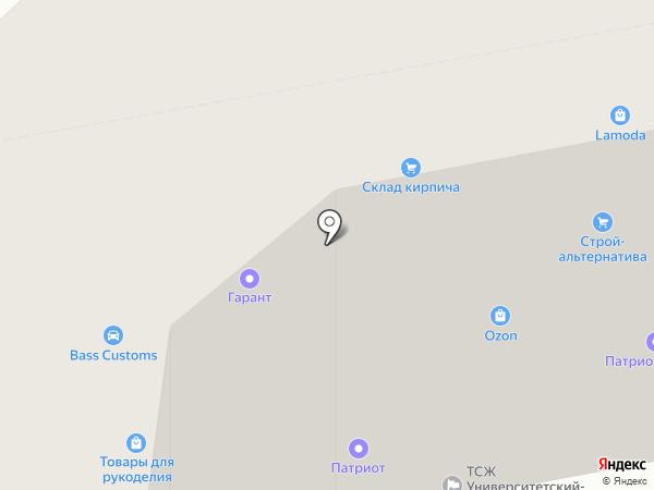 SOSБытТех на карте Волгограда