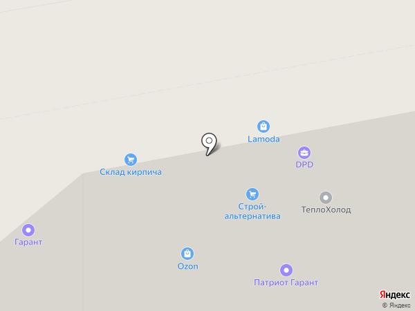 Стройпром на карте Волгограда