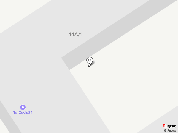 Промволга на карте Волгограда