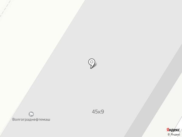 Банкомат, Газпромбанк на карте Волгограда
