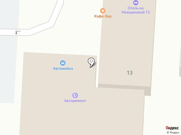 Автокомплекс на карте Волгограда