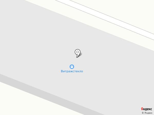 Витражстекло на карте Волгограда