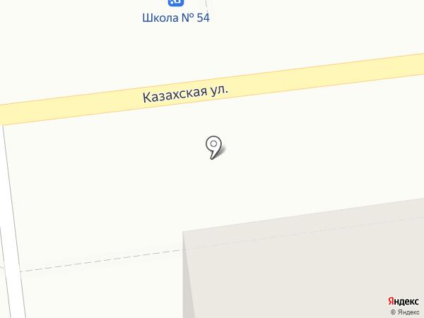 Киоск по продаже хлебобулочных изделий на карте Волгограда