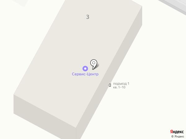 Сервис-Центр на карте Волгограда
