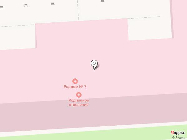 Родильный дом на карте Волгограда