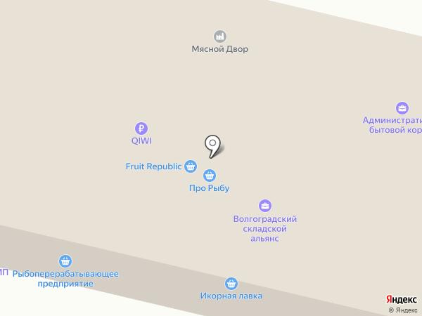 САТ на карте Волгограда