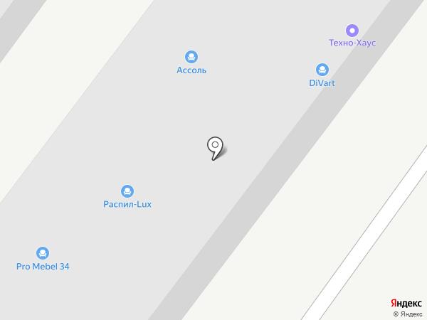 Омега-Софт на карте Волгограда