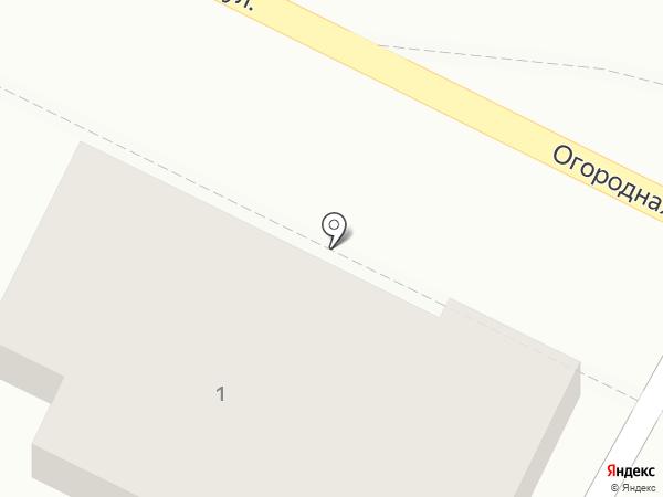 АВТОСТЕКЛО134 на карте Волгограда
