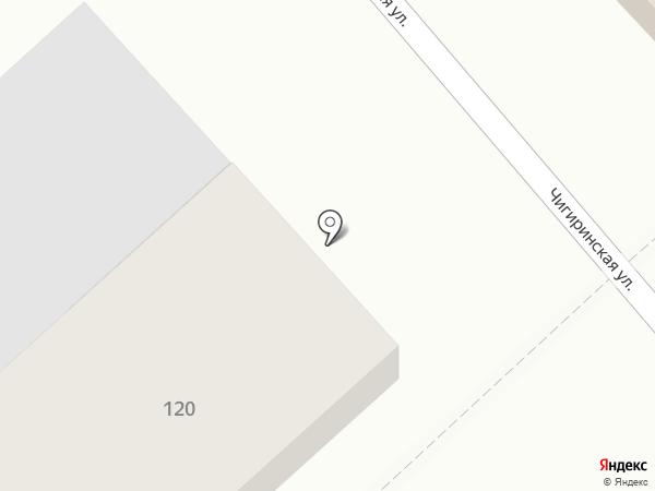 Магазин строительных и отделочных материалов на карте Волгограда