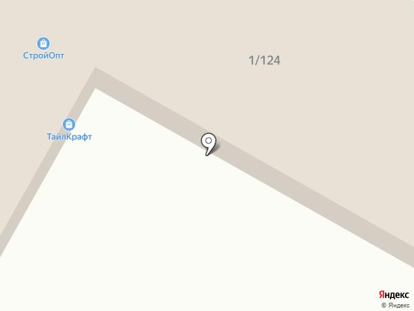 Салон керамической плитки на карте Волгограда