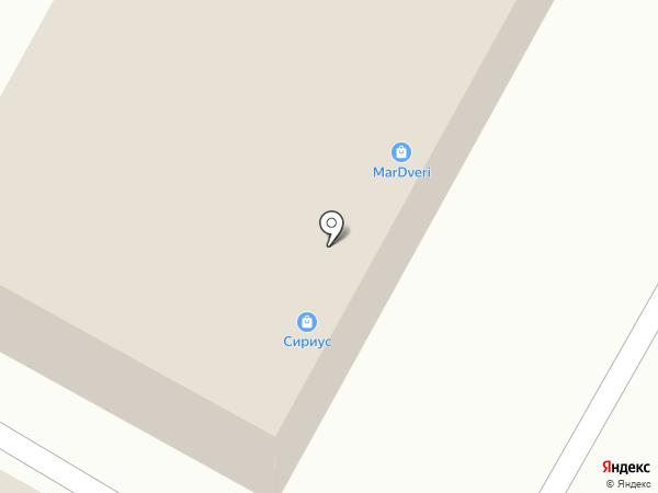 Mardveri на карте Волгограда
