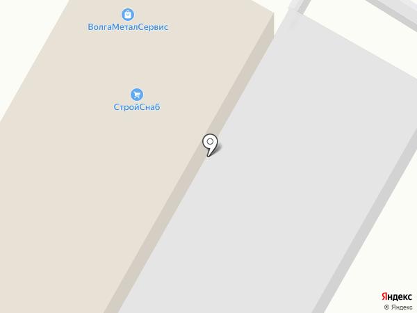 Велесовторг на карте Волгограда