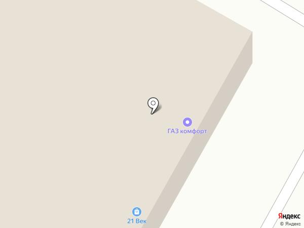 Глянец на карте Волгограда