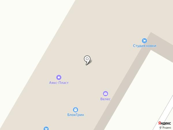 Линия дверей на карте Волгограда
