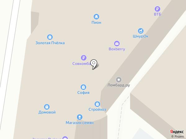 Мульти-Дом на карте Волгограда