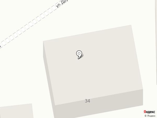 Базис на карте Городища