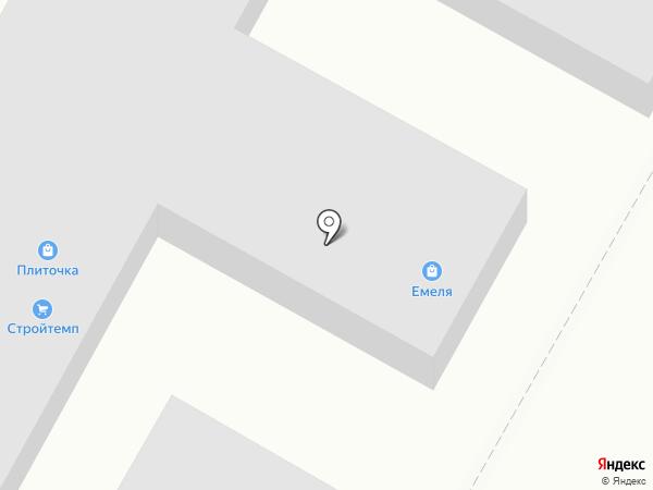 Шахтинская плитка на карте Волгограда