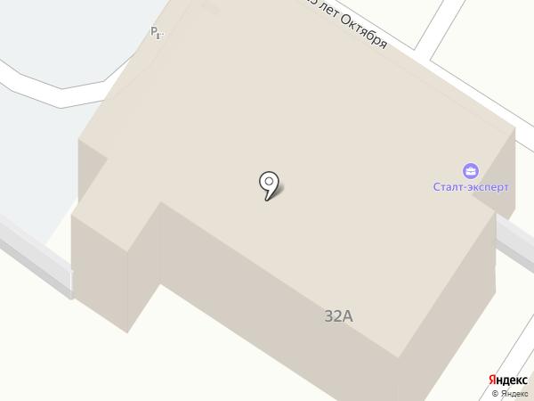 Синара-Девелопмент на карте Волгограда