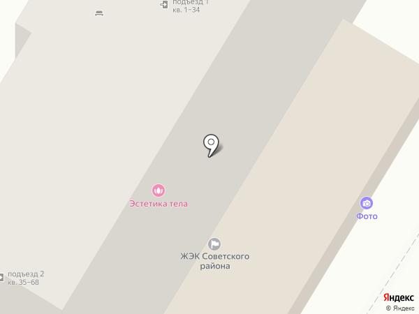 Фотоателье на ул. Тулака на карте Волгограда