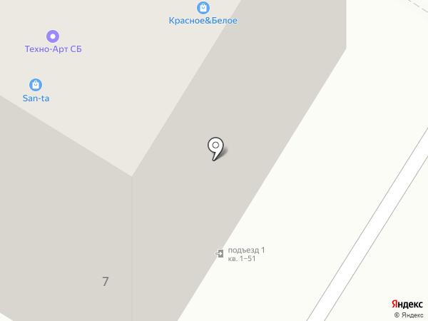 МК Юникорн на карте Волгограда