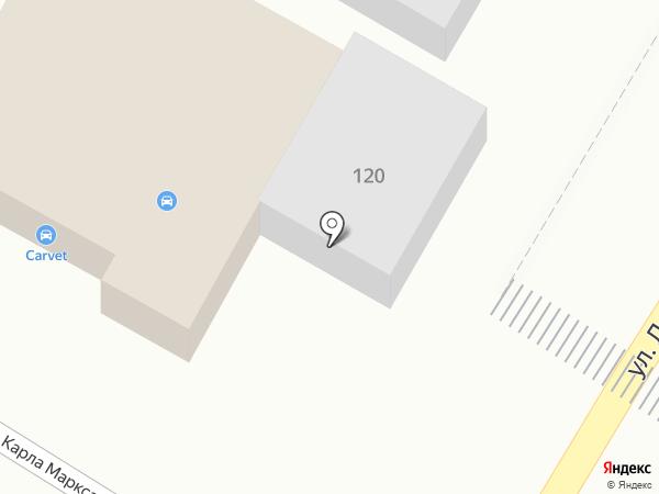 Авто Эстет на карте Волгограда