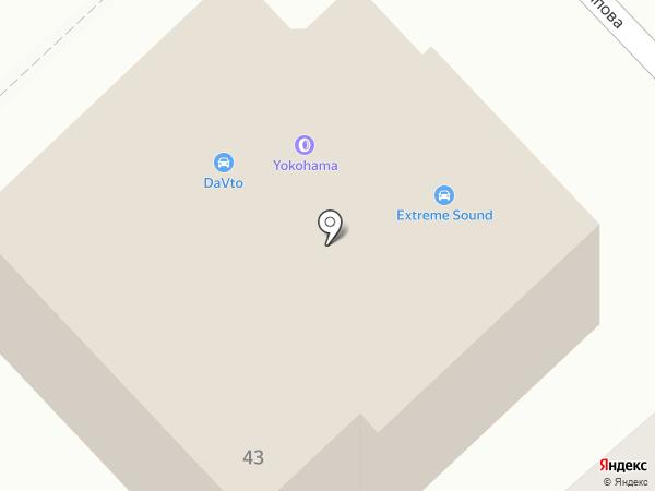 ExtremeSound на карте Волгограда
