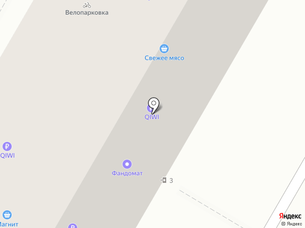 Лукьян на карте Волгограда
