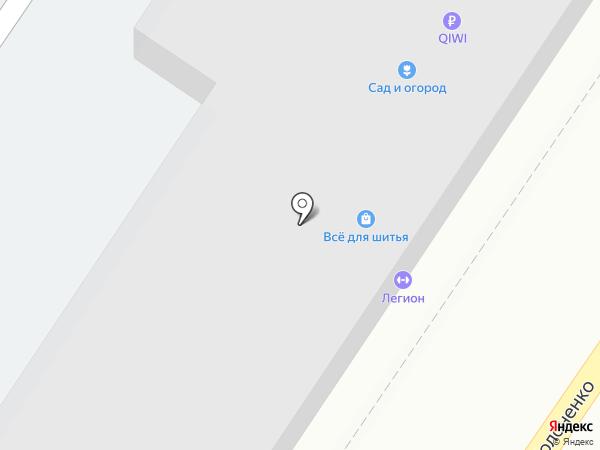 ЧКС на карте Волгограда