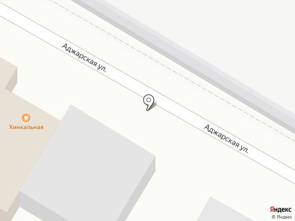 Хинкальная на Тулака на карте Волгограда