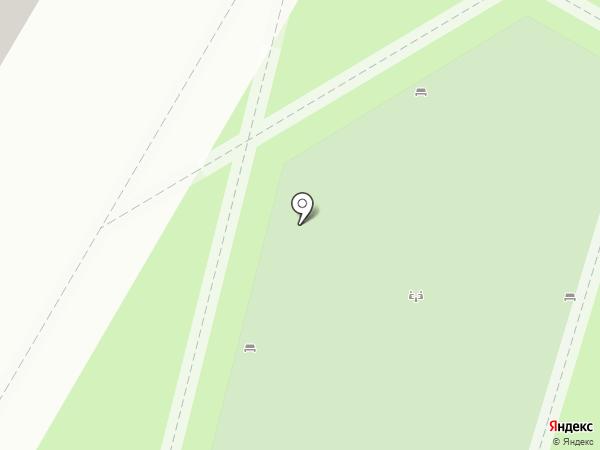 Современный дом на карте Волгограда