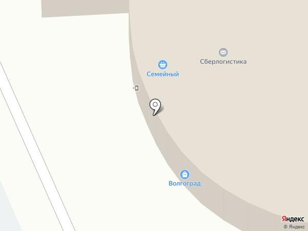 Чежский старовар на карте Волгограда