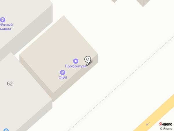 Каролина на карте Волгограда