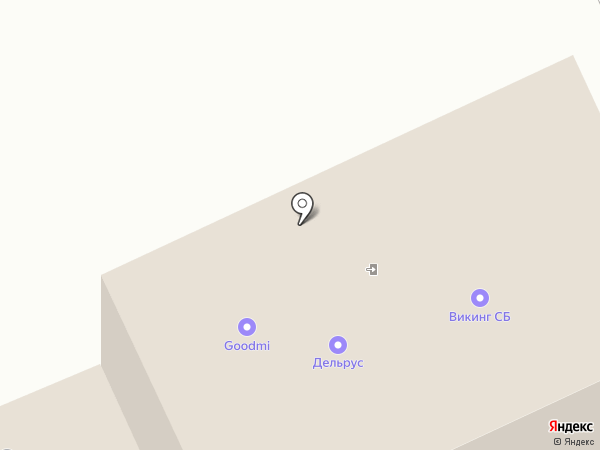 Рыбоперерабатывающая компания на карте Волгограда