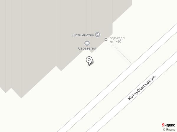 Волгинком на карте Волгограда