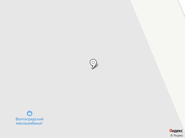 Мясников М.А. на карте Волгограда