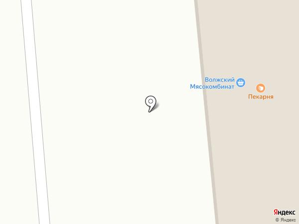 Московская ярмарка на карте Городища