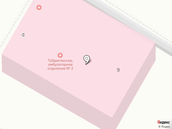 Волгоградский областной противотуберкулезный диспансер №3 на карте Волгограда