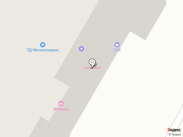 Скела на карте Волгограда